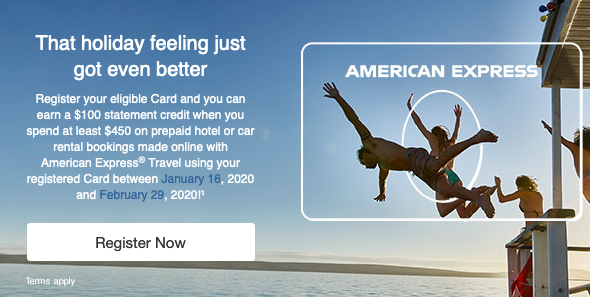 January 16 Update: Spend $450 with Amex Travel on hotels & cars to earn a $100 statement credit, 100 bonus AIR MILES at Rexall & more!