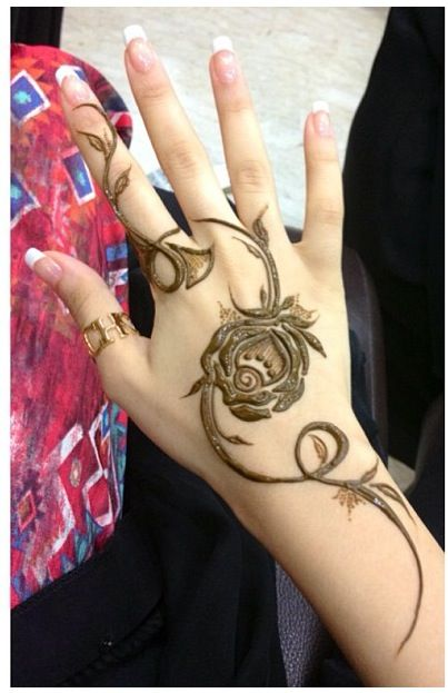 Arabic Mehndi For Hands