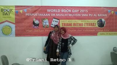 Peringatan Hari Buku di SMA PU Al-Bayan Sukabumi