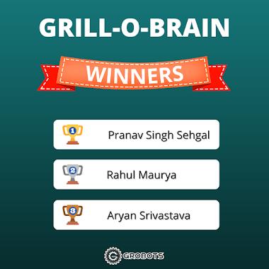 GRILL-O-BRAIN Results