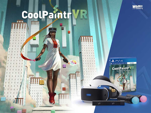 CoolPaintr VR: New Painting VR For PlayStation