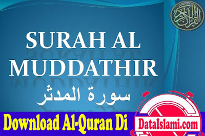 Download Surat Al Mudatsir Mp3 Full Ayat Suara Merdu