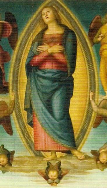 Assunzione di Maria 1506 - Il Perugino  - Cappella dell'Assunta della SS. Annunziata - Firenze
