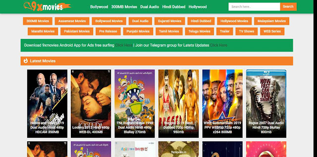 9xmovies home page - Top New Tamil Movie Download Website for free 2019