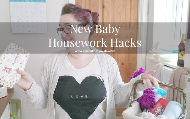 new baby housework hacks