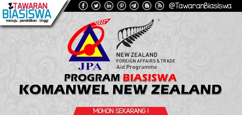 Permohonan Biasiswa Komanwel New Zealand