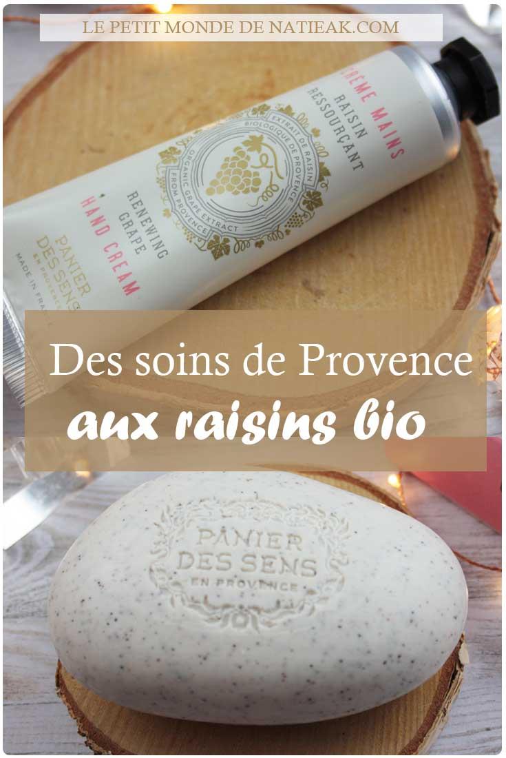 avis sur le savon exfoliant et crème mains de Panier des sens