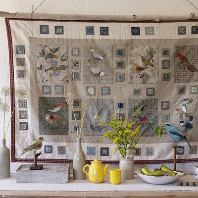 patchwork, jacqueline morel, oiseaux