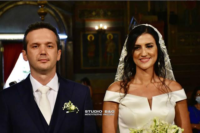 Παντρεύτηκε στο Ναύπλιο η εκπρόσωπος τύπου της ΕΛ.ΑΣ. Ιωάννα Ροτζιώκου