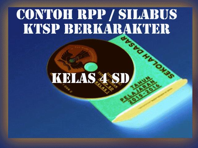 Contoh RPP KTSP Berkarakter Kelas 4 SD