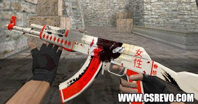 Skin AK47 - Samurai - HD CS 1.6, ak 47