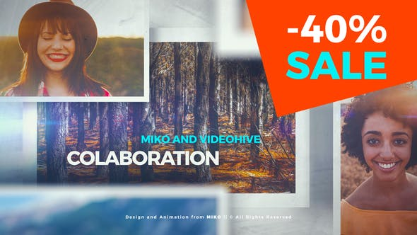 Clean and Simple Slideshow | After Effects Project Files | Videohive