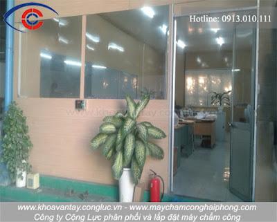 Hình ảnh khu vực văn phòng của công ty Việt Trang.