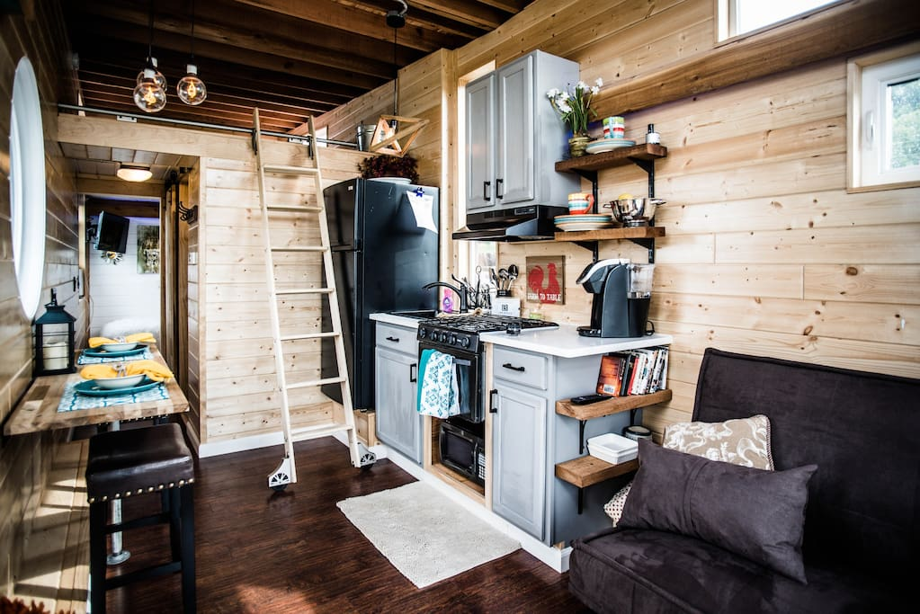 Tiny House Town The Industrial From Wheel Life Tiny Homes