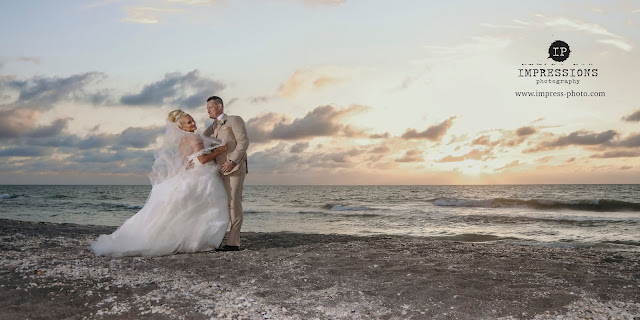Tween Waters Wedding at Sunset Photography