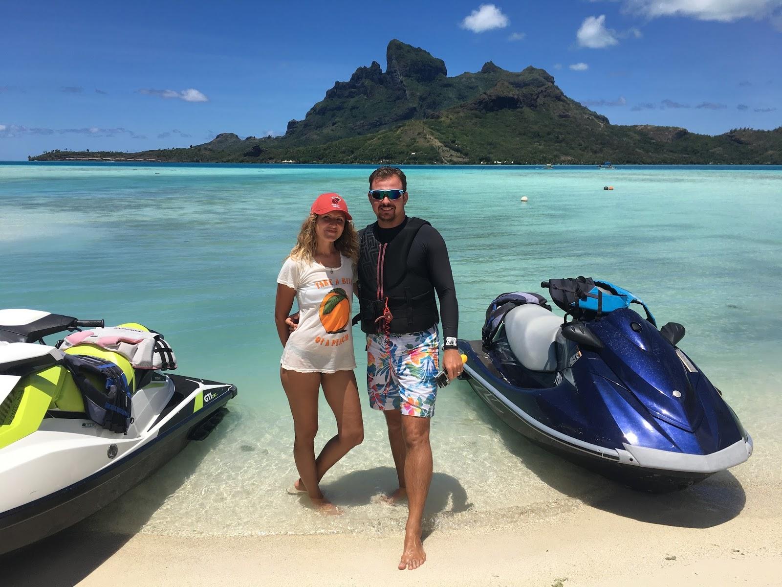 Bora Bora jetski tour