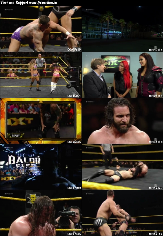 WWE NXT 02 March 2016 WEBRip 480p 200MB