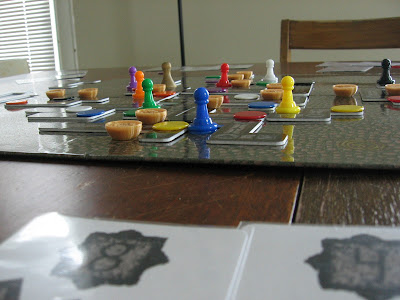 Plunderers of the Labyrinth, closer view of prototype components