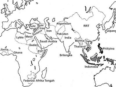 Lembar Kerja Siswa Letak dan Luas Indonesia