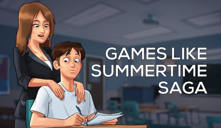 Games Like Summertime Saga - Adult Dating Simulations