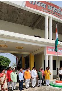 जौनपुर में धूमधाम से मना स्वतंत्रता दिवस, चहुंओर फहराया गया तिरंगा   #NayaSaberaNetwork