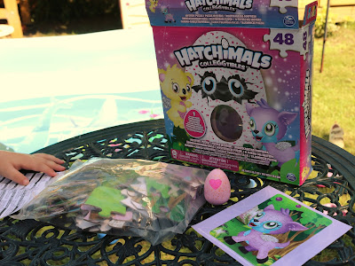 Hatchimals CollEGGtibles 48-piece Mystery Puzzle jigsaw