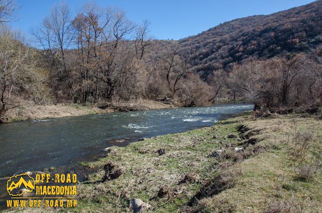 Crna (Black) River near Skochivir village, Macedonia