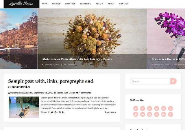 Lavelle Blogger Theme