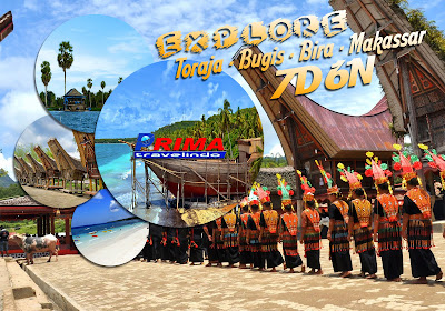 explore toraja-bugis-bira 7 day 6 night