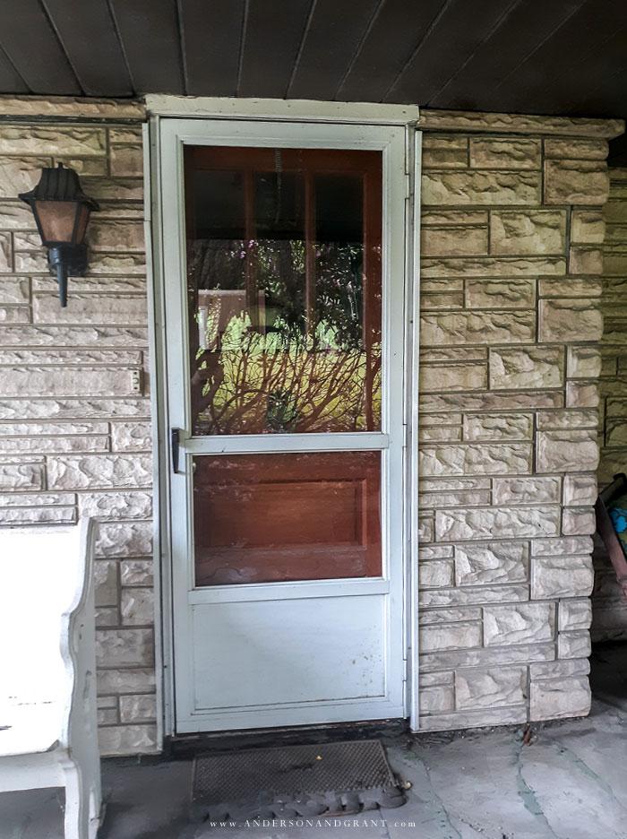 Fixer upper door