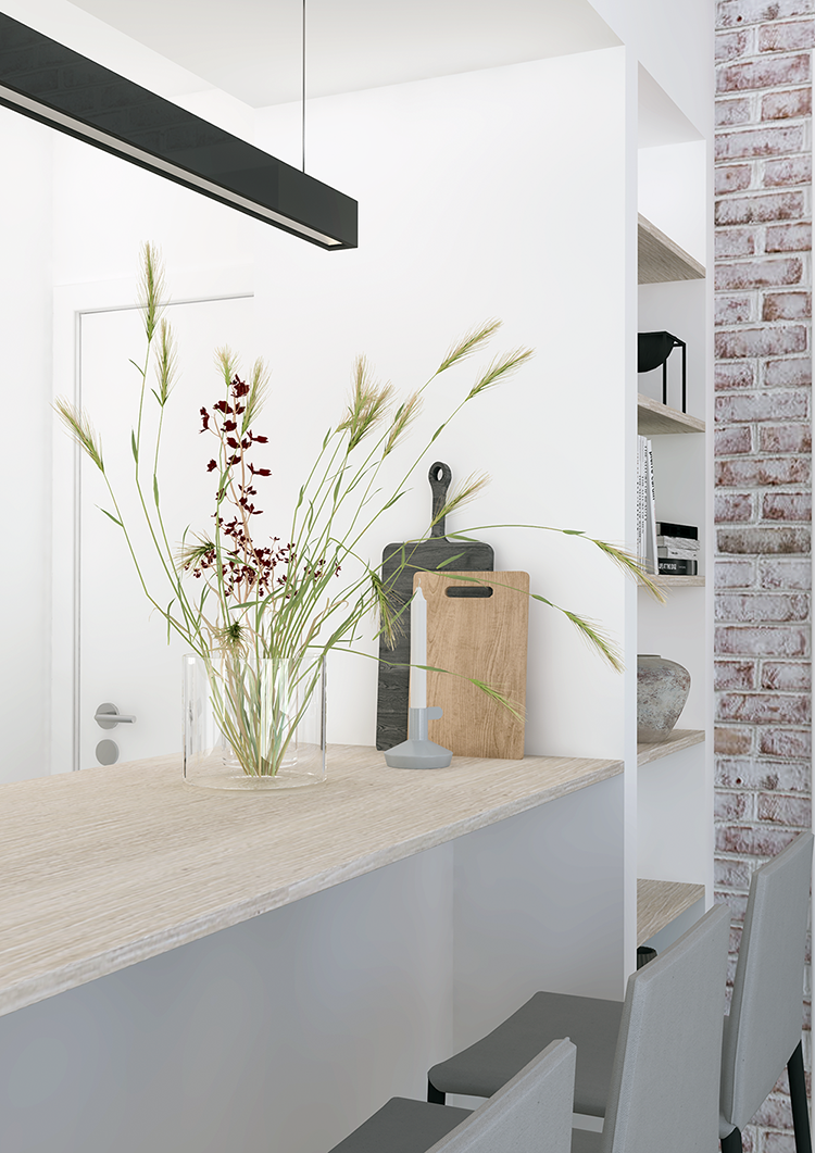 Kitchen renovation in Belgium. E-design by Eleni Psyllaki My Paradissi