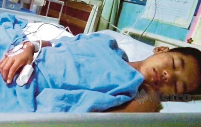 Muhammad Arshad Daniel selepas pembedahan