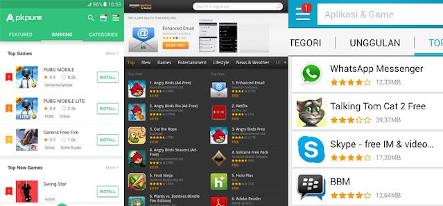 Market Store Selain Google Play