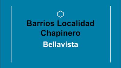 barrios de la localidad de chapinero
