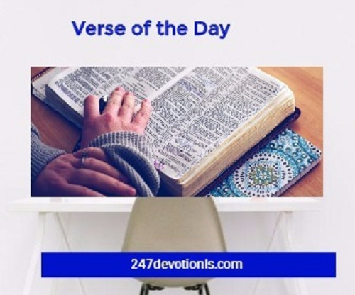 Bible Verses for Sunday - November 26/2017-