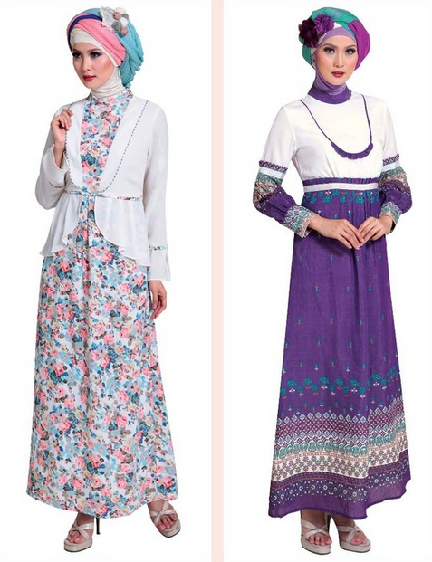 Baju Gamis Modern Untuk Muslimah