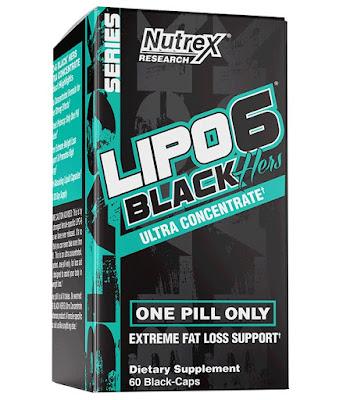 Фет Бърнър Nutrex Lipo-6 Black Hers - 120 капсули