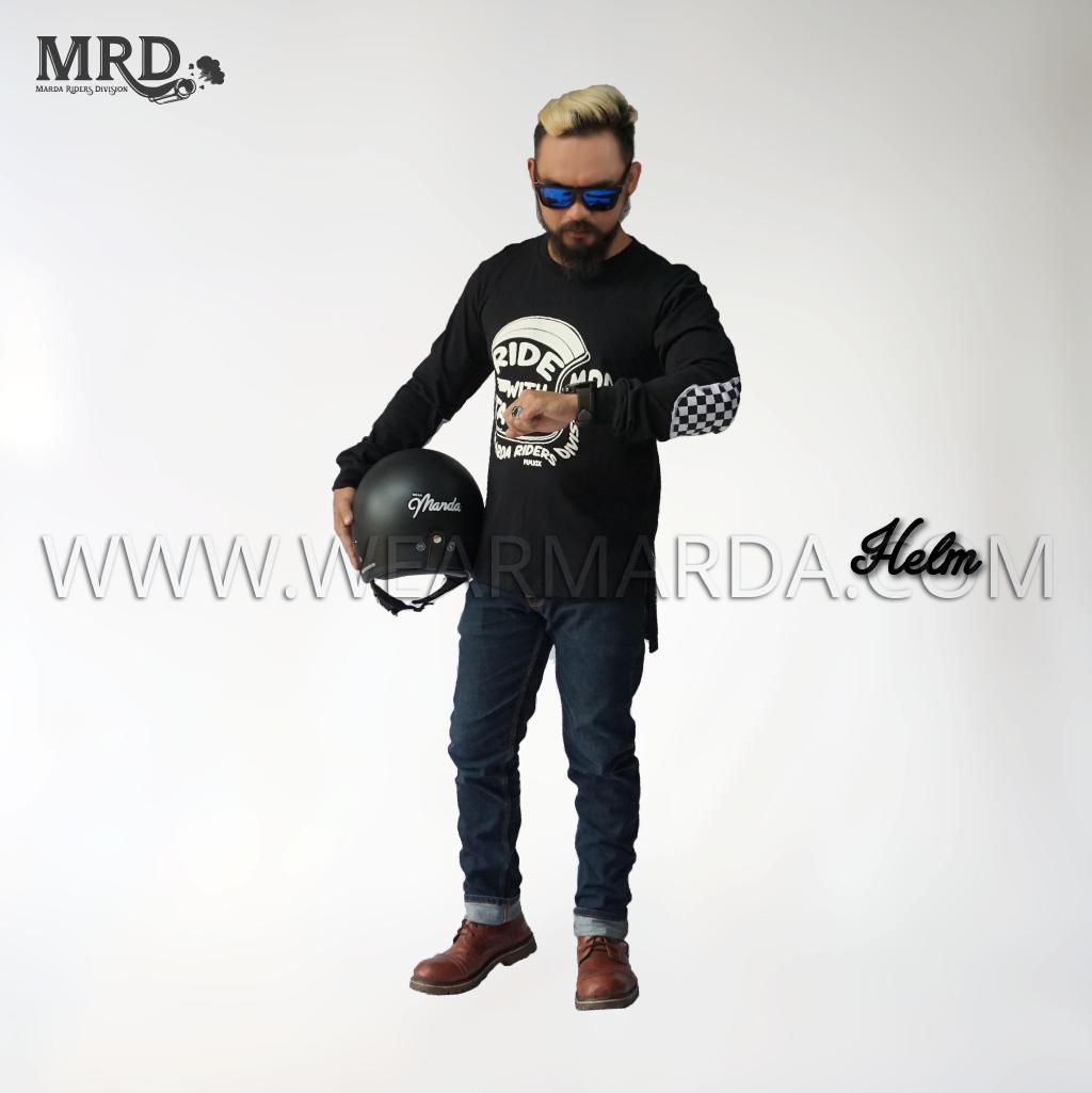 GAMIS KAOS MOTOR MRD - HELMET
