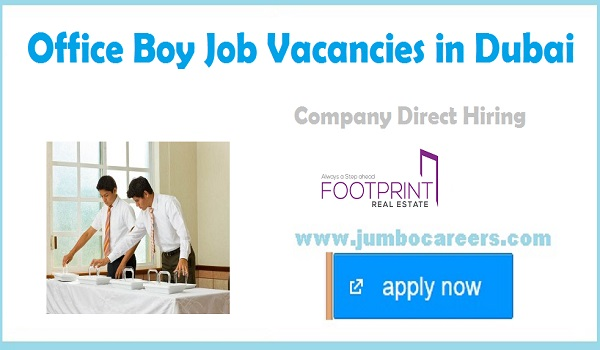 Company jobs with salary, Office jobs in Dubai,