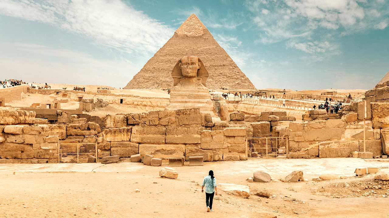 Egypt pyramid most richest nation in africa