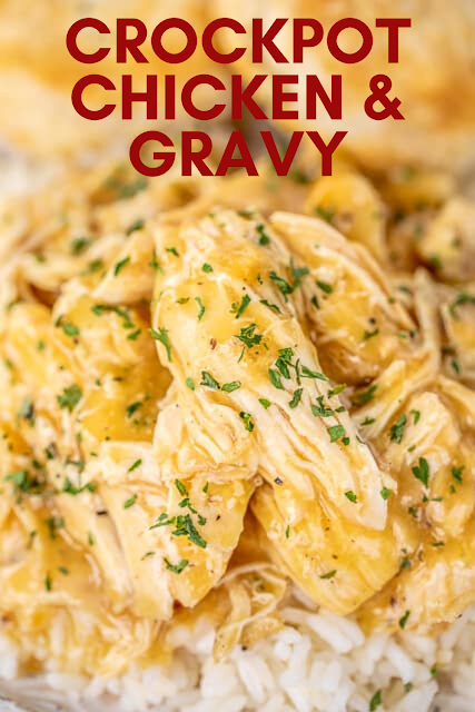 Crockpot Chicken & Gravy