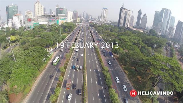Tahun 2013 Simpang Susun Semanggi Belum ada