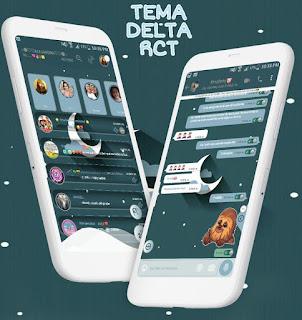 Moon Theme For YOWhatsApp & Delta WhatsApp ByAle