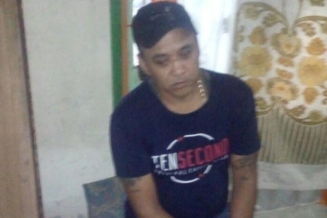 Polres Asahan Bekuk Bandar Narkoba,Pria ini Pasrah di Gelandang Polisi