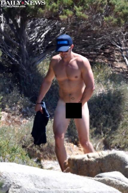 Publican fotos de Orlando Bloom desnudo con Katy Perry en Italia.