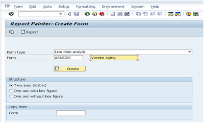SAP FICO Central: Vendor Aging Analysis Through SAP Report Painter