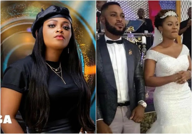 My wife is an actress and that was the content i signed for- Tega Husband reacts as she was dragged by nigerians for allowing saga to suck her nipples
