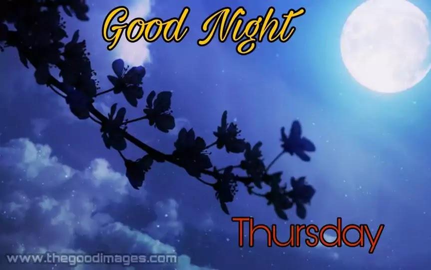 Thursday Good Night Images