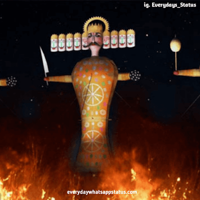 dussehra wishes in english | Everyday Whatsapp Status | Unique 20+ Dusshera Images with Wishes in English