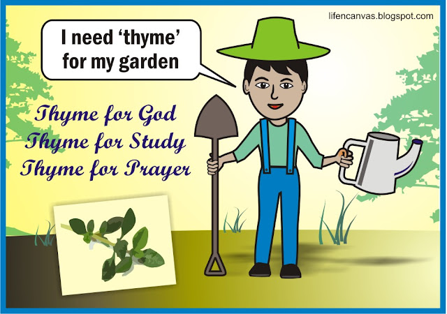thyme for God artwork
